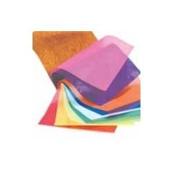 Quilling strips - 5mm x 780mm - 100 strimler - rød og gul