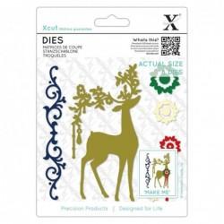 Xcut die - Ornate Reindeer...