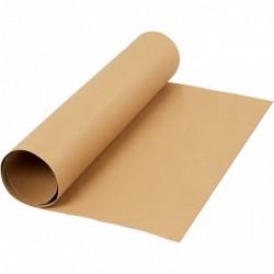 Håndlavet stråsilkepapir - A4 10 ark - blå harmoni