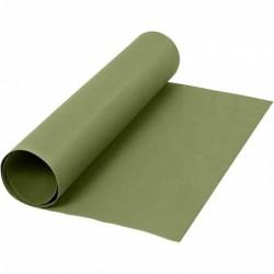 Læderpapir - 50cm x 1m - Grøn