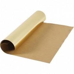 Læderpapir - 50cm x 1m - Guld