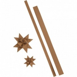 Læderpapir stjernestrimmler...