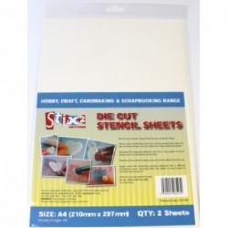 Stix2 - A4 die cut stencil...