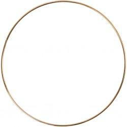 CC Hobby - Metalring - guld...