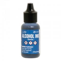 Ranger - Alcohol Ink - Denim