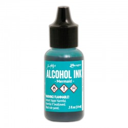 Ranger - Alcohol Ink - Mermaid