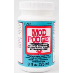 Mod Podge - Dishwasher safe...