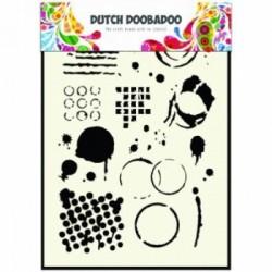 Dutch Doobadoo A5 mask stencil - Butterfly