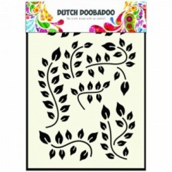 Dutch Doobadoo A5 mask stencil - Spiderweb