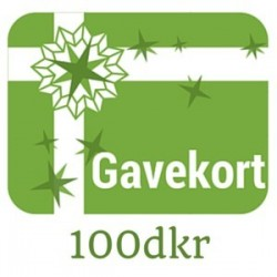Gavekort - værdi 100dkr