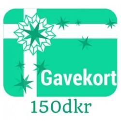 Gavekort - værdi 150dkr
