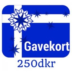 Gavekort - værdi 250dkr