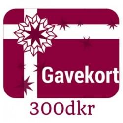 Gavekort - værdi 300dkr