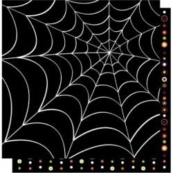Scrapbook ark 12x12 - Cobweb