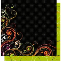Scrapbook ark 12x12 - Scroll