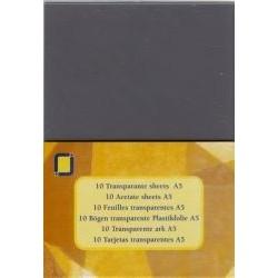 Jeje A5 acetate ark x10