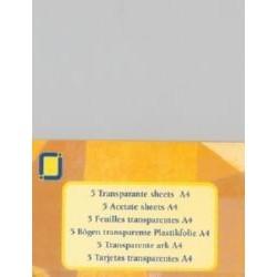 Jeje A4 acetate ark x5