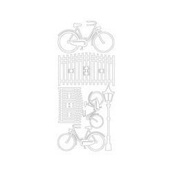 Peel-off - Cykler - sort