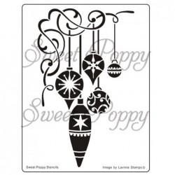 Sweet Poppy stenciler -...
