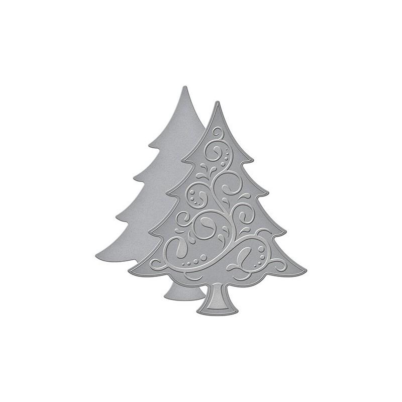 Studio Light A4 dobbelsiddet baggrund papir 1 ark - Sweet Winter Season 207
