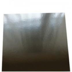Metalisk karton A4 5ark - Sølv